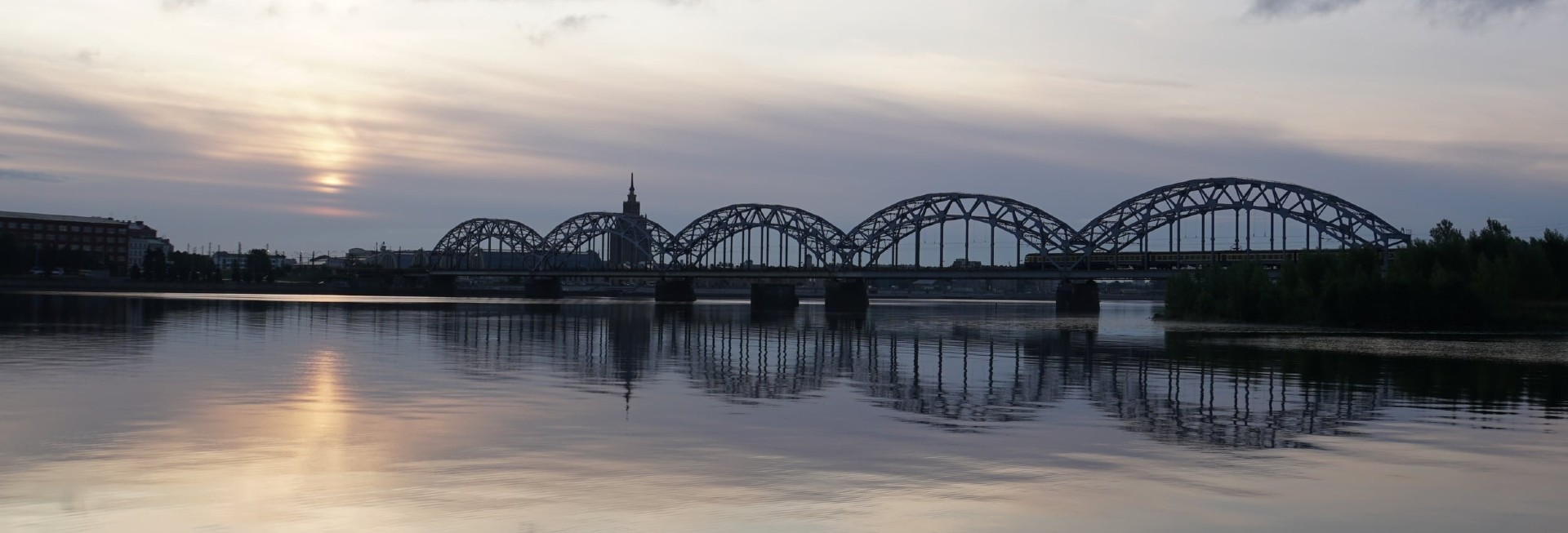 Railway Bridge Riga