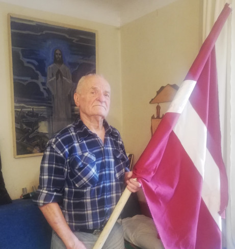 Latvian freedom fighter Bruno Javoiss